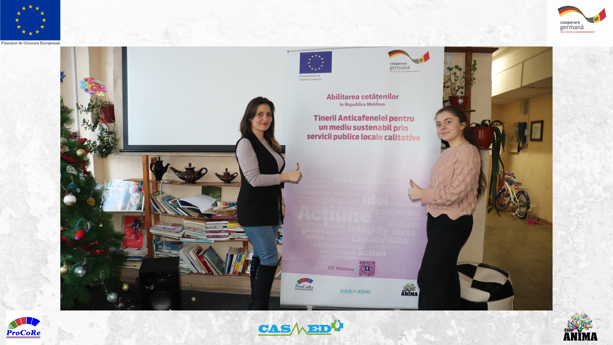 Emisiune la Vocea Basarabiei  cu Daria Spînu și Sergiu Boghiu_Ambasadori ECO