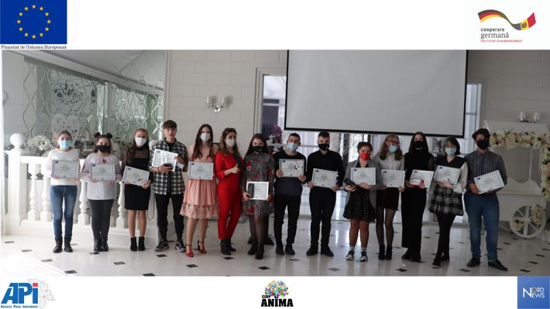 Gala tinerilor începători în jurnalistică / 14 martie 2021 la Bălți
