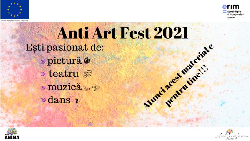 #Ediția a III-a a Festivalului antiARTFest2021!